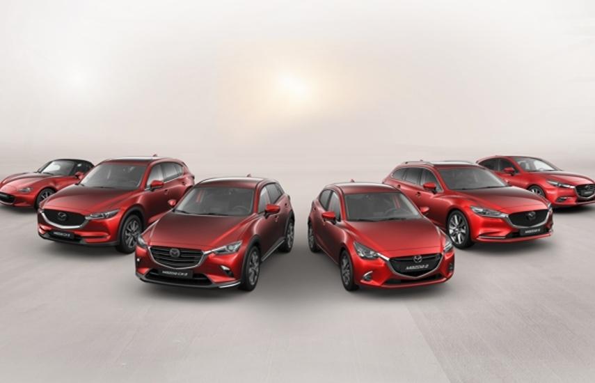 Laat u vervoeren door het Mazda Gamma Image